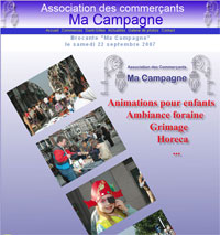 Association des commer�ants